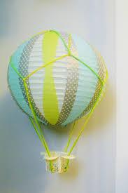 How To Make Paper Air Balloon Lantern - diy miniature air balloons loving here