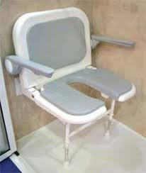 Bathroom Shower Chair Fold Up Accessable Shower Chairs Out Of The Way When You Don T