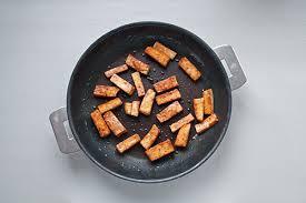 cuisiner tofu poele tofu grillé à la sauce soja et au gingembre