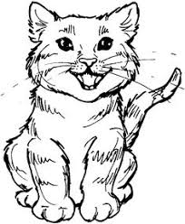 tabby cat coloring pages kitties2 fun stuff pinterest cat coloring and woodburning