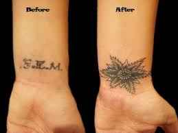 tattoo camo before and after how to cover up your old tattoo with a new tattoo design tatring