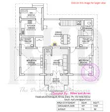 Kerala Style 3 Bedroom Single Floor House Plans 13 3 Bedroom 1800 Sqft Kerala Style House House Plan Malappuram