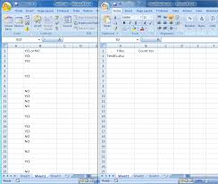 excel vba counting data in column from another workbook and