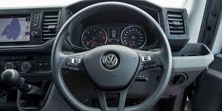 volkswagen crafter interior volkswagen caddy crafter transporter get standard aeb in uk