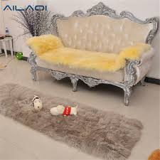 Cover Leather Sofa Aliexpress Com Buy Ailaqi Australian Pure Wool Sofa Cover