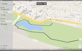 How To Draw A Route On Google Maps by Maps Measure Android Apps On Google Play