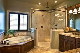 corner tub with shower ideas redesign concepts blog old world