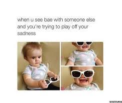 Sad Baby Meme - baby bwahahahas purpleslobinrecovery