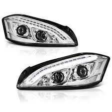 mercedes headlights 07 09 mercedes benz w221 s class xenon hid model only led drl