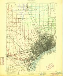 Oakland County Michigan Map by Red Run Red Run Section Of The Clinton River Page 3