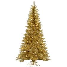 gold christmas tree gold christmas trees you ll wayfair