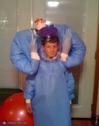 Halloween Costume Headless Man Holding Head Headless Mad Scientist Costume