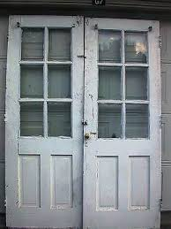 Salvaged French Doors - fabulous potting shed accessories collection on ebay
