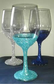Wine Glass Decorating Ideas Best 25 Wine Glass Crafts Ideas On Pinterest Wine Glass Candle