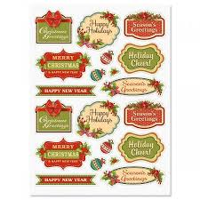christmas stickers vintage christmas stickers current catalog