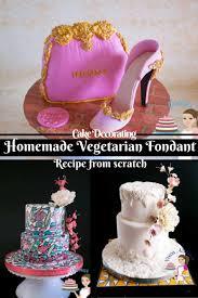 homemade vegetarian fondant recipe from scratch vegan u0026 parve