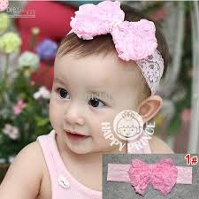 headband for babies infant flower headband babies pink lace bow hairband toddler