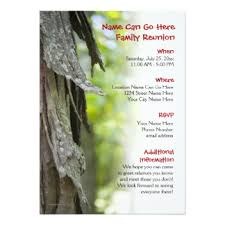 family reunion invitations u0026 announcements zazzle