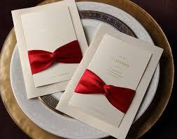 Wedding Invitations With Ribbon Elegant Wedding Invitations With Ribbon Iidaemilia Com
