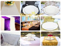 Sequin Table Runner Wholesale 14