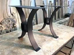 metal end table legs metal table base lovable metal conference table legs best images