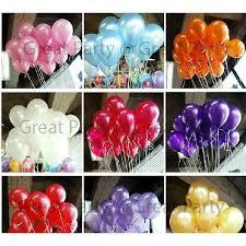 Balloon Diy Decorations X20pcs 10in 2 2g Helium Solid Plain Balloon For Birthday Wedding