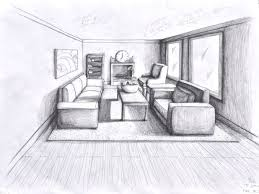 draw two point perspective living room centerfieldbar com