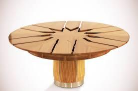 table ronde cuisine design fletcher capstan cette table ronde est presque magique tld