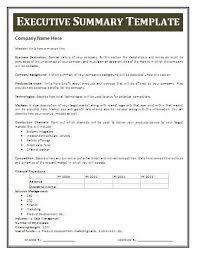 template for summary report best 25 executive summary exle ideas on executive
