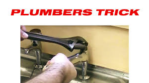 Kitchen Sink Mixer Taps B Q How To Remove A Stubborn Tap Head Gear Youtube