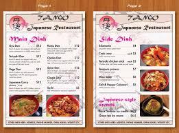menu design for albert hui by ekanite design 3097798