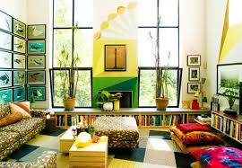 bright colour interior design fantastic interior design wall color gallery wall art design