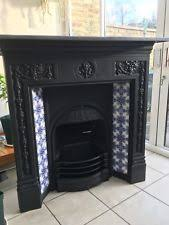 Victorian Cast Iron Bedroom Fireplace Victorian Cast Iron Fireplace Ebay