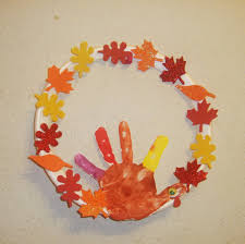 thanksgiving toddlers thanksgiving wreath kids craft