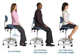 sit stand desk chair 3 in 1 sit stand from ergocentric buythismaybe pinterest