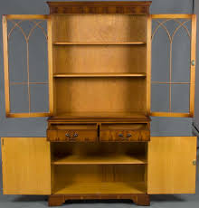 Arched Bookcase Vintage Gothic Bookcase