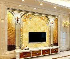 3d Wallpaper For Living Room by Aliexpress Com Buy 3d Wallpaper For Room European Style Roman