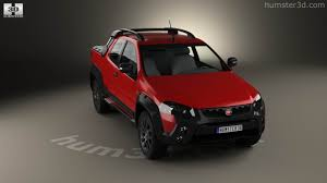 fiat strada 360 view of fiat strada adventure cd extreme 2015 3d model hum3d