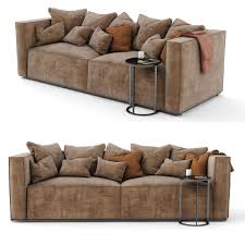 sofa scandinavian design mags soft sofa sectional scandinavian design 3d model max obj fbx