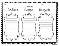 reduce reuse recycle worksheets for 1st grade the best and most