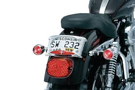 motorcycle license plate frame with led brake light curved license plate frame license plate frames mounts covers