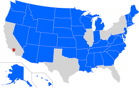 West Adams Los Angeles Map by States With A Smaller Population Than The 10 Million Inhabitants
