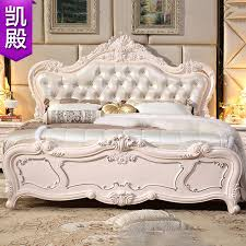 latest european wood bed french double wedding 18 m leather