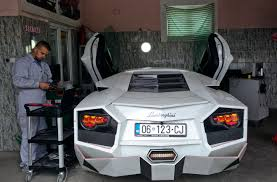 replica lamborghini kosovan sports car enthusiast builds a lamborghini replica wtop