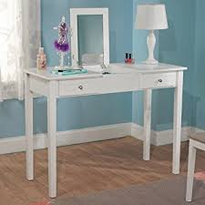 Bedroom Writing Desk Amazon Com Bedroom White Charming Vanity Desk With Mirror Perfect