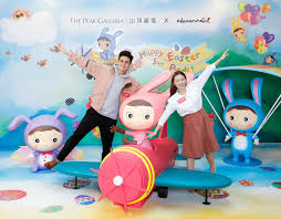 hang lung the peak galleria x hosannart to present happy easter