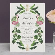 tropical wedding invitations tropical foil pressed wedding invitations by elly minted