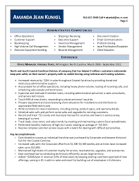 Office Manager Job Description Resume by Best Solutions Of Sample Resume Office Assistant About Summary