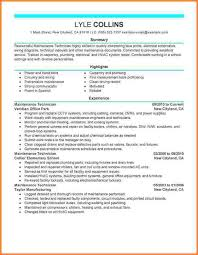 stunning auto mechanic resume 8 building industrial maintenance
