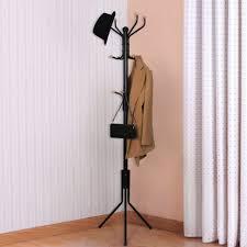 uncategorized hallway coat rack and storage vertical coat hanger